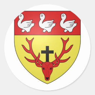 ville lux Munshausen, Luxembourg Sticker