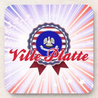 Ville Platte LA Drink Coaster
