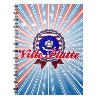 Ville Platte LA Note Books