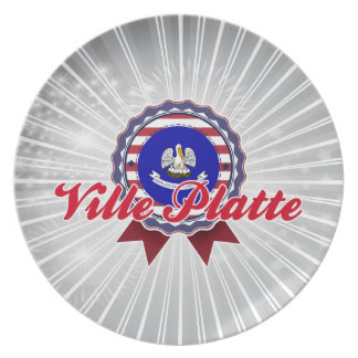 Ville Platte, LA Plate