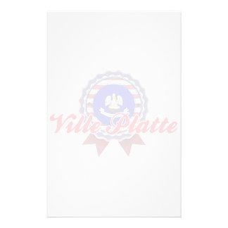 Ville Platte, LA Stationery Paper
