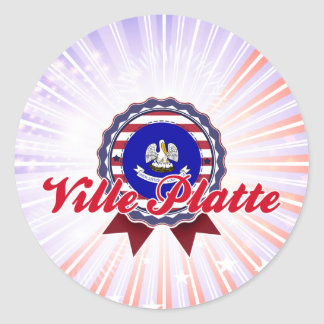 Ville Platte LA Sticker