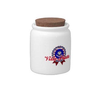 Ville Platte LA Candy Jar