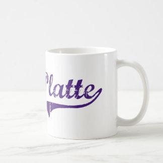 Ville Platte Louisiana Classic Design Basic White Mug