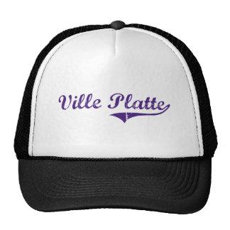 Ville Platte Louisiana Classic Design Hats