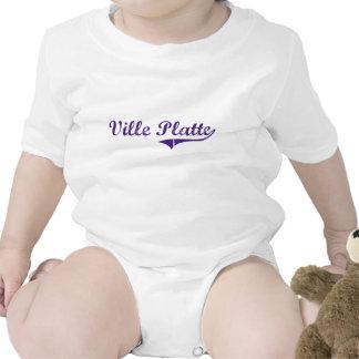 Ville Platte Louisiana Classic Design Bodysuits