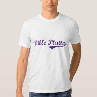 Ville Platte Louisiana Classic Design Tshirt