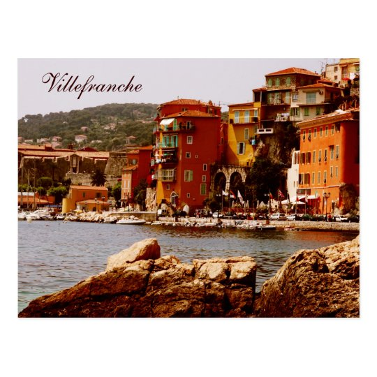Villefranche, France Postcard