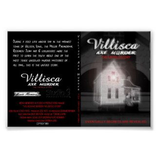 Villisca Axe Murder House, THE UNTOLD STORY Posters