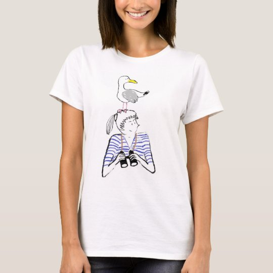 Vilnia and its seagull T-Shirt