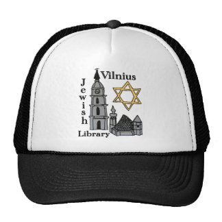 Vilnius Jewish Library hat