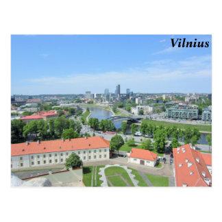 Vilnius, Lithuania Postcard