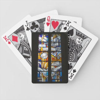 Vilnius Univ. Library Stained Glass - LITHUANIA Poker Deck