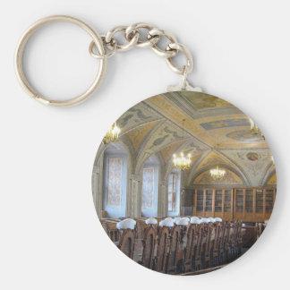 Vilnius University Library - LITHUANIA --- Basic Round Button Key Ring