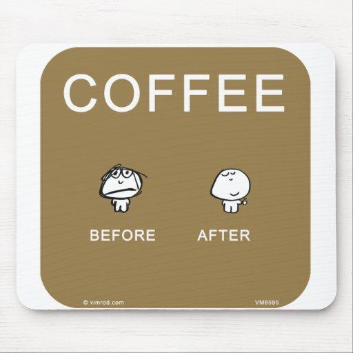 vimrod coffee addict mouse pad