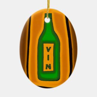 Vin Shine Christmas Ornament