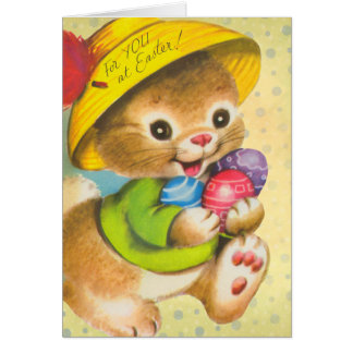 Vinage Easter cards for kids