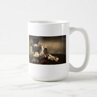 Vinatge Fruit and Vegetables Coffee Mugs