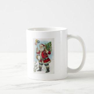 Vinatge Santa Mug