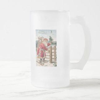 Vinatge Santa Mugs