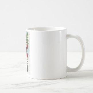 Vinatge Santa Coffee Mug