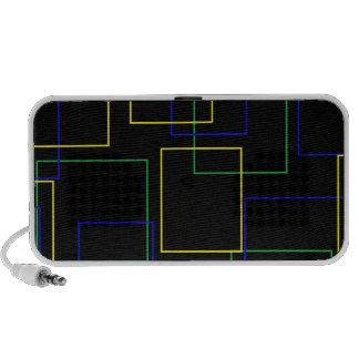 Vinatge Squares Mp3 Speaker
