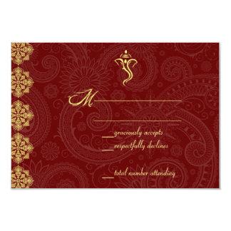 Vinayaka Wedding RSVP Cards