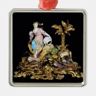 Vincennes Figure of a Naiad Christmas Ornament