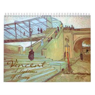 Vincent A Lightness of Being Van Gogh 2012 Art Calendars