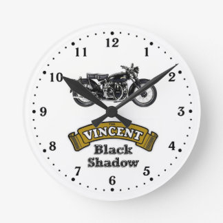 Vincent Black Shadow wall clock