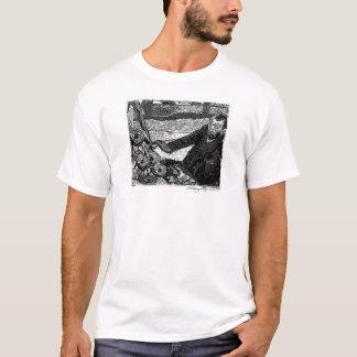 Vincent painting sunflowers. T-Shirt