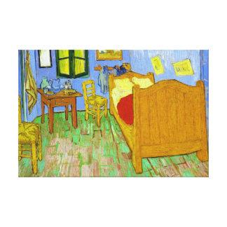 Vincent s Bedroom in Arles by Vincent Van Gogh Stretched Canvas Prints