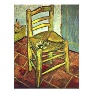 Vincent S Chair With Pipe By Vincent Van Gogh Flyer