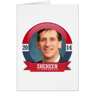 VINCENT SHEHEEN CAMPAIGN GREETING CARDS