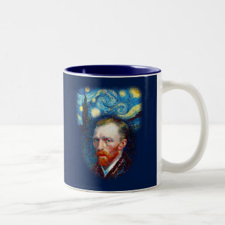 Vincent Starry Night Two-Tone Coffee Mug