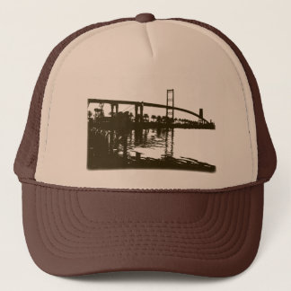 Vincent Thomas Bridge Brown Hat