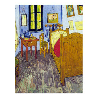 Vincent van Gogh 1888 The Bedroom At Arles Postcard