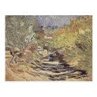 Vincent van Gogh   A Road in St. Remy Postcard
