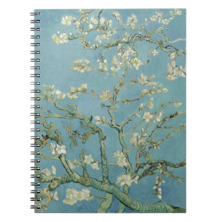 Vincent Van Gogh Almond Blossom Floral Painting Notebook