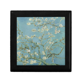 Vincent Van Gogh Almond Blossom Floral Painting Small Square Gift Box