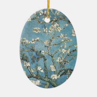 Vincent van Gogh   Almond branches in bloom, 1890 Ceramic Oval Decoration