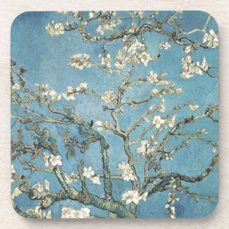 Vincent van Gogh | Almond branches in bloom, 1890 Drink Coaster
