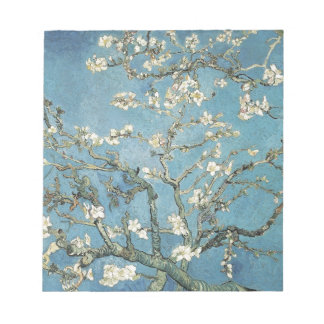 Vincent van Gogh | Almond branches in bloom, 1890 Memo Pads