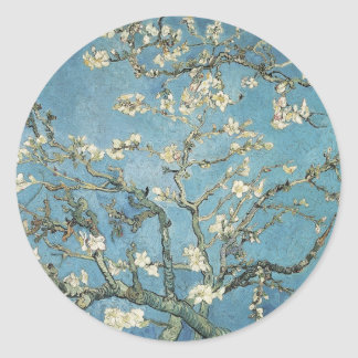 Vincent van Gogh | Almond branches in bloom, 1890 Round Sticker