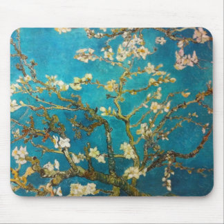 Vincent van Gogh Almond Tree Art Mouse Mat