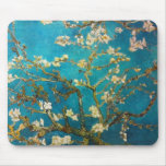 Vincent van Gogh Almond Tree Art Mouse Pad