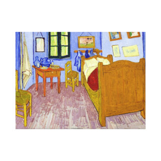 Vincent van Gogh Bedroom in Arles Canvas Print