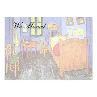 Vincent Van Gogh - Bedroom In Arles Fine Art 13 Cm X 18 Cm Invitation Card