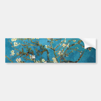 Vincent van Gogh, Blossoming Almond Tree Bumper Sticker