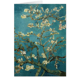 Vincent Van Gogh -  Blossoming Almond Tree Card